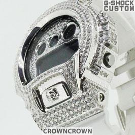 G-SHOCK ジーショック カスタム メンズ 腕時計 DW-6900 DW6900-NB7 カスタムベゼル おしゃれ  CROWNCROWN DW6900-089