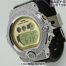 BABY-G ベビージー カスタム レディース 腕時計 BG-6901 BG6901-1JF おしゃれ 少女時代 SNSD テヨン 芸能人 ブランド カスタムベゼル CROWNCROWN BG6900-001