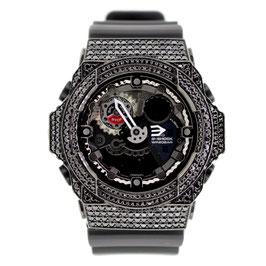G-SHOCK ジーショック カスタム メンズ 腕時計 GA-150 GA150-7A カスタムベゼル おしゃれ 芸能人 ブランド 人気 メンズ ファッション CROWNCROWN GA300-001