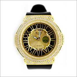 BABY-G ベビージー カスタム レディース 腕時計 レディース時計 BGA-160 BGA160-1BJF おしゃれ 芸能人 人気 ブランド カスタムベゼル CROWNCROWN BGA160-006