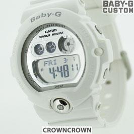 BABY-G ベビージー カスタム レディース 腕時計 BG-6900,BG6900-7 おしゃれ 少女時代 SNSD テヨン 芸能人 ブランド カスタムベゼル CROWNCROWN bg6900-017