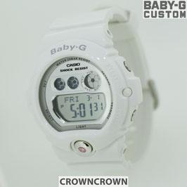 BABY-G ベビージー カスタム レディース 腕時計 BG-6900,BG6900-7 おしゃれ 少女時代 SNSD テヨン 芸能人 ブランド カスタムベゼル CROWNCROWN bg6900-018