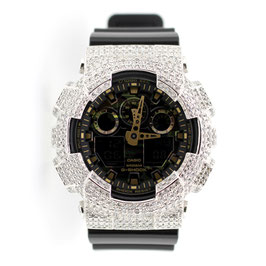 G-SHOCK ジーショック カスタム メンズ 腕時計 GA-100 GA100-CF1A カスタムベゼル おしゃれ 芸能人 人気 メンズ ファッション CROWNCROWN GA100-014