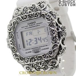 G-SHOCK ジーショック カスタム 腕時計 DW-5600 DW5600MW-7 カスタム ベゼル SBT CROWNCROWN DW5600-017
