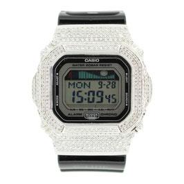 G-SHOCK ジーショック カスタム 腕時計 DW-5600 DW5600bb-1jf カスタムベゼル スワロフスキージルコニア 人気 ユニセックス ファッション CROWNCROWN DW5600-002
