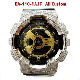 BABY-G ベビージー カスタム レディース 腕時計 レディース時計 BA110 BA110-LP7A おしゃれ  芸能人 愛用 人気 ブランド カスタムベゼル CROWNCROWNBA110-013