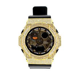 G-SHOCK ジーショック カスタム メンズ 腕時計 GA-300 GA300-1A カスタムベゼル おしゃれ 芸能人 ブランド 人気 メンズ ファッション CROWNCROWN GA300-005
