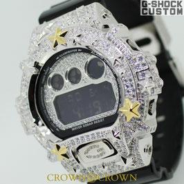 G-SHOCK CUSTOM ジーショック カスタム メンズ 腕時計 DW6900-NB1 カスタムベゼル ネイティブ イーグル CROWNCROWN DW6900-115