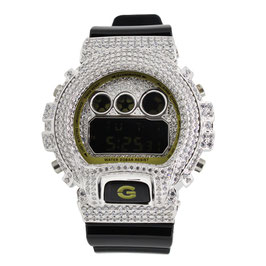 G-SHOCK ジーショック カスタム メンズ 腕時計 DW-6900 DW6900-CB-1JF カスタムベゼル おしゃれ シルバー 人気 メンズ ファッション CROWNCROWN DW6900-042