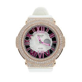 BABY-G ベビージー カスタム レディース 腕時計 レディース時計 BGA-160 BGA160-7B2 おしゃれ 芸能人 愛用 人気 ブランド カスタムベゼル CROWNCROWN BGA160-004