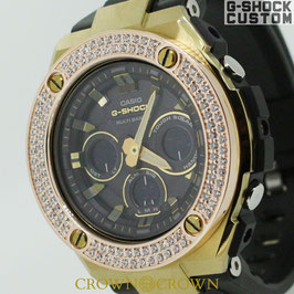 G-SHOCK ジーショック カスタム 腕時計 GST-W300BD-1AJF CROWNCROWN GST-W300-004