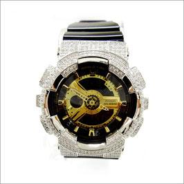 BABY-G ベビージー カスタム レディース 腕時計 レディース時計 BA120 BA120-TR7B おしゃれ 芸能人 愛用 人気 ブランド カスタムベゼル CROWNCROWN BA110-0014