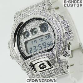 G-SHOCK ジーショック カスタム メンズ 腕時計 DW-6900 DW6900-MR7 カスタムベゼル おしゃれ  CROWNCROWN DW6900-094