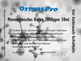 Monoatomisches Boron 2000ppm 30ml