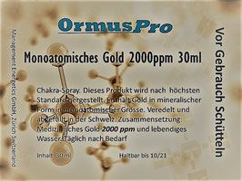 Zirbeldrüsen Combo XL Mono Gold 30ml 2000ppm & Mono Boron 30 ml 2000ppm