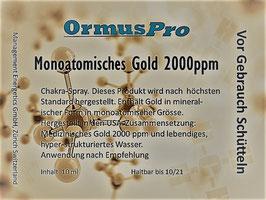 Monoatomisches Gold 2000 ppm 10ml