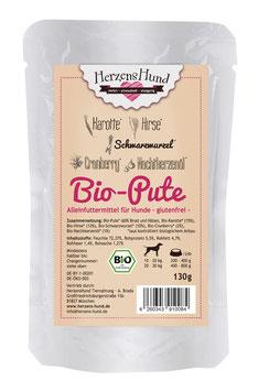 HerzensHund Bio-Pute mit Bio-Gemüse
