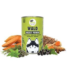 WALD – Nassfutter aus Insekten für Feinschmecker