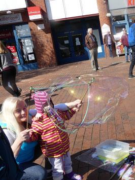 """Seifenblasenbänder """"Triangel"""" mit einer Kammer für Kinder und Jugendliche"""