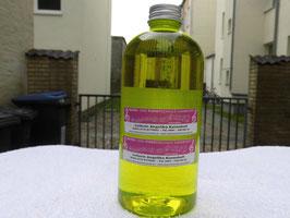 500ml RiesenSeifenblasenkonzentrat für 5,5 Liter Seifenflüssigkeit.