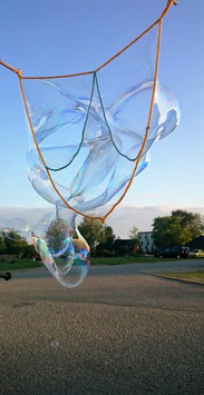 Seifenblasenbänder mit 3 Kammern für Kinder ab 6 Jahre und für Jugendliche