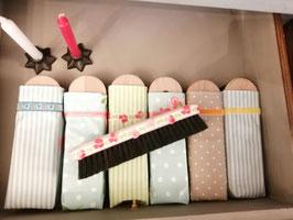Kleiderbürste in handgenähtem Etui von Kleine Manufaktur, Bern/Schweiz