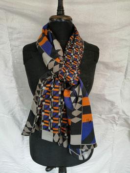 Seidenschal der Textildesignerin Regina Pereto von Vista Textiles, Zürich - VERKAUFT