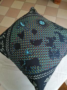 Kissen der Textiledesignerin Regina Peretto von Vista Textiles, Zürich - VERKAUFT