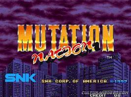 MUTATION NATION ミューテイション・ネイション