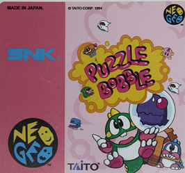 PUZZLE BOBBLE     BUST-A-MOVE