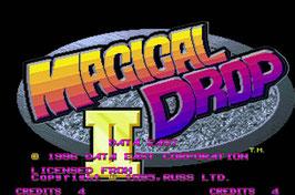 MAGICAL DROP 2   マジカルドロップ 2