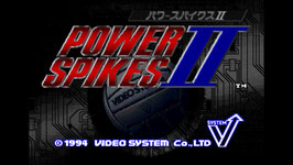 POWER SPIKES II パワースパイクス II