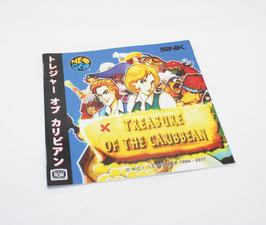 TREASURE OF THE CARIBBEAN トレジャー オブ カリビアン MANUAL  Reg.Japan