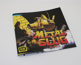 METAL SLUG メタルスラッグ MANUAL