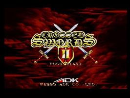 CROSSED SWORDS II   クロススウォード
