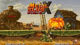 METAL SLUG X  メタルスラッグ X