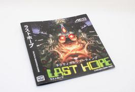 LAST HOPE   ラストホープ Reg. Japan MANUAL