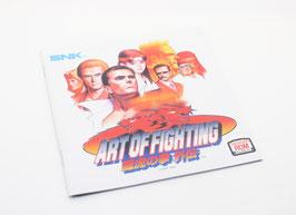 ART OF FIGHTING : Ryūko no Ken Gaiden 龍虎の拳外伝 MANUAL  Reg. Japan