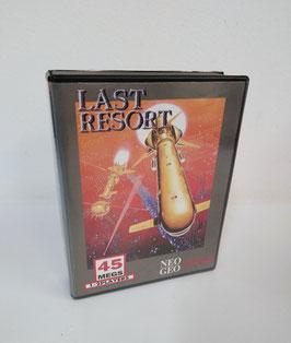 LAST RESORT   ラストリゾート