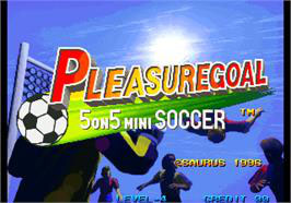 PLEASURE GOAL 5 - on - 5 STREET SOCCER / FUTSAL