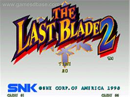 THE LAST BLADE 2 ザ ラストブレード 2