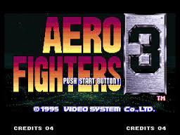 AERO FIGHTERS 3 / SONIC WINGS
