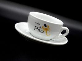 Cappuccinotasse inkl. Untertasse