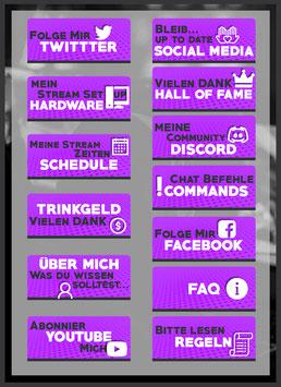 Twitch Panels 36