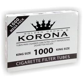 Korona Zigaretten Hülsen 1000Stk