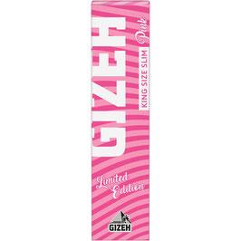GIZEH KS Slim Pink Edition (34 Blättchen)