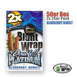 Blunt Wrap Platinum double - Blueberry Burst!