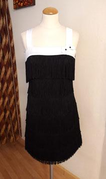 Vestido flecos 9030