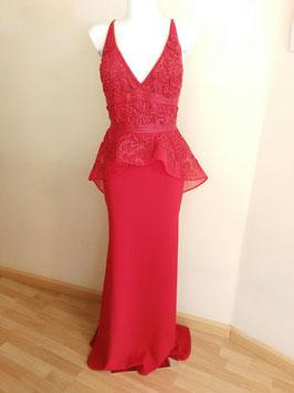 Vestido 93437 rojo