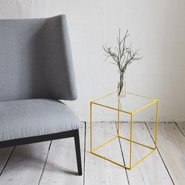 SALE - Wuzzl - Glas / Stahl-gelb / Sonderedition